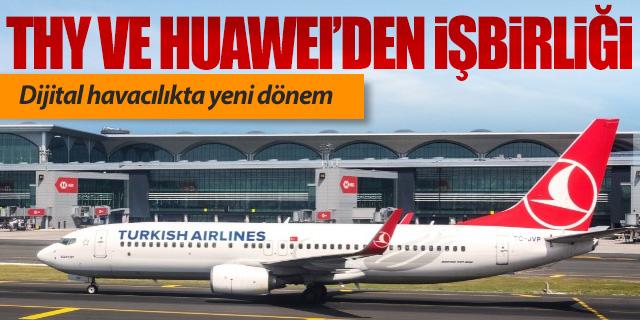 Turk Hava Yollari Huawei Is Birligi Ile Dijital Havacilikta Yeni Donem Cybermag